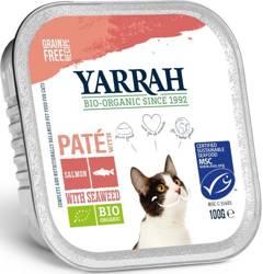 (dla kota) pasztet z łososia z algami BIO 100 g