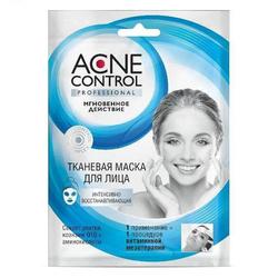 Acne Control Maska w płachcie do twarzy Regenerująca, 25ml - Fitokosmetik