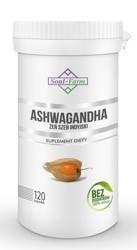 Ashwagandha ekstrakt 120 kapsułek (500 mg)