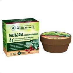 Balsam Aromaterapeutyczny 4 w 1 na bazie 16 ziół i olejków eterycznych, 50 ml