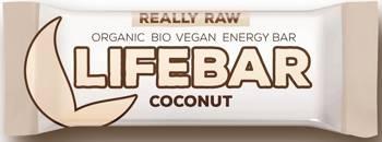 Baton daktylowo - orzechowy z kokosem raw bezglutenowy BIO 47 g