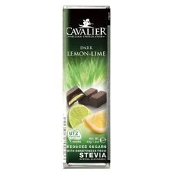 Baton z deserowej czekolady z nadzieniem cytrynowy
