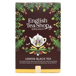 Herbata czarna z trawą cytrynową (20x1,75) BIO 35