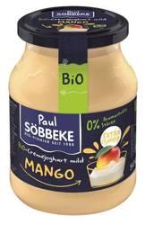 Jogurt mango (7,5 % tłuszczu w mleku) BIO 500 g (słoik)