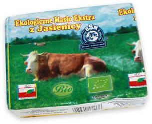Masło ekstra (82 % tłuszczu) BIO 200 g
