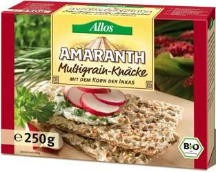 Pieczywo chrupkie amarantusowe wielozbożowe BIO 250 g