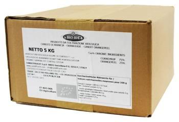 Skórka pomarańczy kandyzowana BIO 5 kg  (la BIO idea)