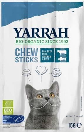 (dla kota) pałeczki do gryzienia z wołowiną BIO (3 x 5 g) 15 g