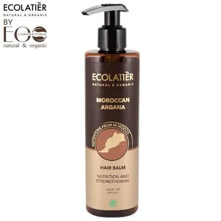 Balsam do włosów Odżywczo-wzmacniający MAROKAN ARGANA, 250 ml, ECOLATIER
