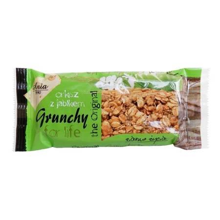 Baton Grunchy orkiszowy z jabłkiem 65 g