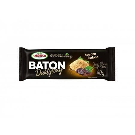 Baton daktylowy z sezamem i kakao 40 g - PREMIUM