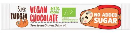 Baton o smaku kokosowym bezglutenowy BIO 40 g  (super fudgio)