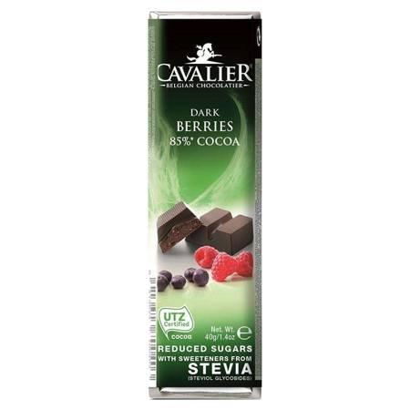 Baton z deserowej czekolady z owocami leśnymi Cava