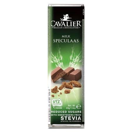 Baton z mlecznej czekolady z nadzieniem o smaku ko