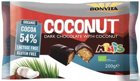 Batony kokosowe bez laktozy bezglutenowe BIO (10 x 20 g) 200 g