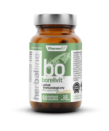 Borellvit na układ immunologiczny 60 kapsułek 29,59 g  (herballine)