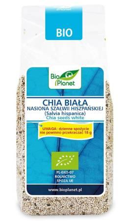Chia biała - nasiona szałwii hiszpańskiej BIO 200 g