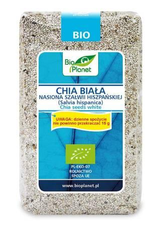 Chia biała - nasiona szałwii hiszpańskiej BIO 400 g