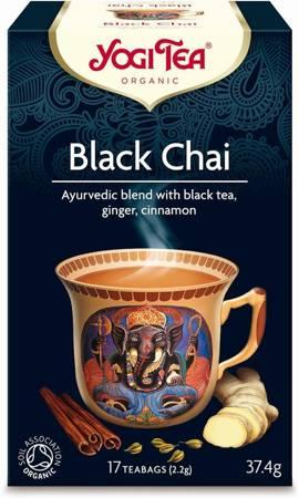 Herbata czarna z imbirem i cynamonem (black chai) BIO (17 x 2,2 g) 37,4 g