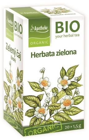 Herbata zielona chińska ekspresowa BIO (20 x 1,5 g) 30 g