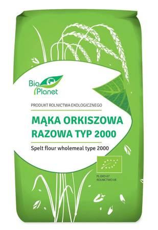 Mąka orkiszowa razowa typ 2000 BIO 500 g