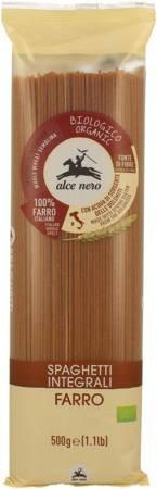 Makaron (orkiszowy razowy) spaghetti BIO 500 g