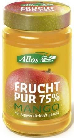 Mus z mango (75 % owoców) BIO 250 g