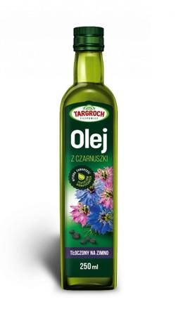 Olej z Czarnuszki - Tłoczony Na Zimno 250 ml