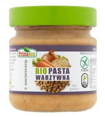 Pasta warzywna z soczewicą bezglutenowa BIO 160 g