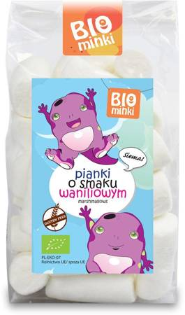 Pianki o smaku waniliowym bezglutenowe BIO 100 g