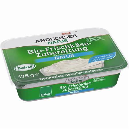 Serek kremowy naturalny 65% tł. BIO 175 g