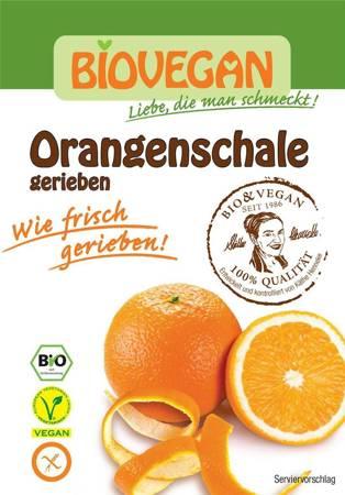 Skórka pomarańczy suszona sproszkowana bezglutenowa BIO 9 g