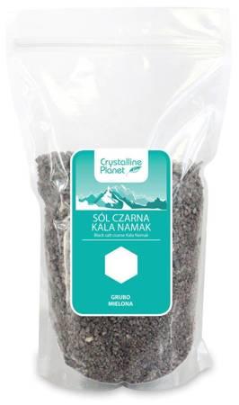 Sól czarna kala namak grubo mielona 1 kg